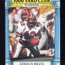 1987 Topps Football 1000 Yard Club #08 Gerald Riggs - Atlanta Falcons