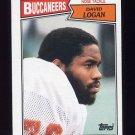 1987 Topps Football #391 David Logan - Tampa Bay Buccaneers