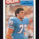 1987 Topps Football #314 Ray Childress - Houston Oilers