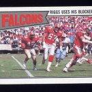1987 Topps Football #248 Atlanta Falcons Team Leaders