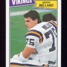 1987 Topps Football #209 Keith Millard - Minnesota Vikings