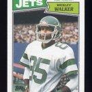 1987 Topps Football #132 Wesley Walker - New York Jets Ex