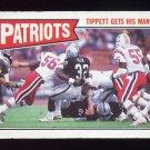 1987 Topps Football #096 New England Patriots Team Leaders