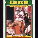 1988 Topps Football 1000 Yard Club #19 Roger Craig - San Francisco 49ers