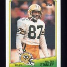 1988 Topps Football #318 Walter Stanley - Green Bay Packers