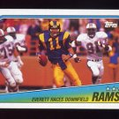 1988 Topps Football #287 Los Angeles Rams Team Leaders / Jim Everett