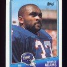 1988 Topps Football #275 George Adams - New York Giants
