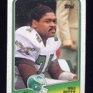 1988 Topps Football #243 Mike Pitts - Philadelphia Eagles