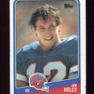 1988 Topps Football #221 Jim Kelly - Buffalo Bills