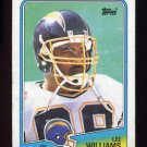 1988 Topps Football #212 Lee Williams - San Diego Chargers