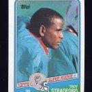 1988 Topps Football #191 Troy Stradford RC - Miami Dolphins