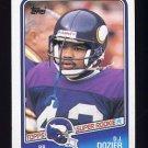 1988 Topps Football #150 D.J. Dozier RC - Minnesota Vikings NM-M