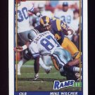 1991 Topps Football #533 Mike Wilcher - Los Angeles Rams