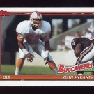 1991 Topps Football #493 Keith McCants - Tampa Bay Buccaneers