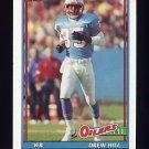 1991 Topps Football #231 Drew Hill - Houston Oilers