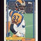 1992 Topps Football #465 Pat Terrell - Los Angeles Rams