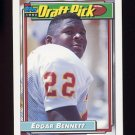 1992 Topps Football #104 Edgar Bennett RC - Green Bay Packers