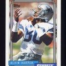 1992 Topps Football #028 Alvin Harper - Dallas Cowboys