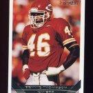 1993 Topps Gold Football #377 Bennie Thompson - Kansas City Chiefs