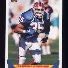 1993 Topps Football #654 Carwell Gardner - Buffalo Bills