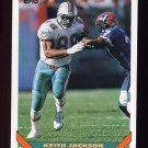 1993 Topps Football #645 Keith Jackson - Miami Dolphins