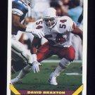 1993 Topps Football #624 David Braxton - Phoenix Cardinals