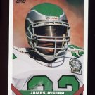 1993 Topps Football #596 James Joseph - Philadelphia Eagles