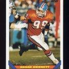 1993 Topps Football #458 Shane Dronett - Denver Broncos