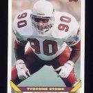 1993 Topps Football #435 Tyronne Stowe - Phoenix Cardinals