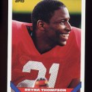 1993 Topps Football #376 Reyna Thompson - New England Patriots