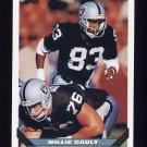 1993 Topps Football #374 Willie Gault - Los Angeles Raiders
