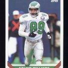 1993 Topps Football #256 Calvin Williams - Philadelphia Eagles