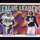 1993 Topps Football #218 Clyde Simmons / Leslie O'Neal LL