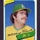 1980 Topps Baseball #717 Mickey Klutts - Oakland A's