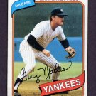 1980 Topps Baseball #710 Graig Nettles - New York Yankees