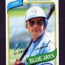 1980 Topps Baseball #693 Craig Kusick - Toronto Blue Jays
