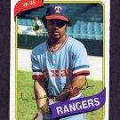 1980 Topps Baseball #656 Larvell Blanks - Texas Rangers Ex