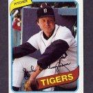 1980 Topps Baseball #603 Jack Billingham - Detroit Tigers