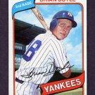 1980 Topps Baseball #582 Brian Doyle - New York Yankees