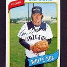 1980 Topps Baseball #575 Ken Kravec - Chicago White Sox