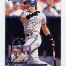 1995 Donruss Baseball #499 Pat Borders - Toronto Blue Jays
