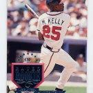 1995 Donruss Baseball #299 Mike Kelly - Atlanta Braves