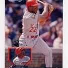 1995 Donruss Baseball #100 Thomas Howard - Cincinnati Reds