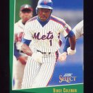 1993 Select Baseball #175 Vince Coleman - New York Mets