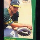 1993 Select Baseball #132 Terry Steinbach - Oakland A's