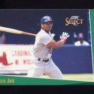 1993 Select Baseball #131 Felix Jose - St. Louis Cardinals