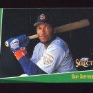 1993 Select Baseball #041 Gary Sheffield - San Diego Padres