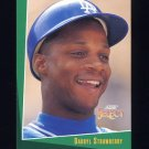 1993 Select Baseball #021 Darryl Strawberry - Los Angeles Dodgers