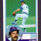 1983 Topps Baseball #759 Doug Bird - Chicago Cubs