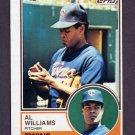 1983 Topps Baseball #731 Al Williams - Minnesota Twins